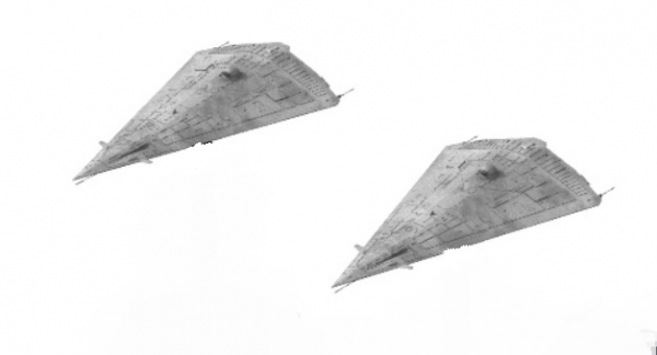 Traveller Miniatures: Imperial Scout Courier Vessel Pack (2)
