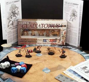 Ludus Gladiatorius Miniature Combat Game Set #2