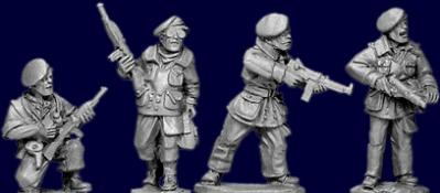 Artizan Designs WWII 28mm: SAS Europe (4)