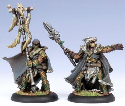 (Circle Orboros) Wolves Master Of The Hunt & Totem Bearer