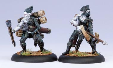 (Legion Of Everblight) Blight Archer & Ammo Porter Unit Attachment