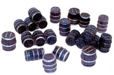 Terrain: Wooden Barrels