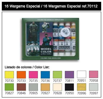 Model Color: Wargames Special Paint Set (16)