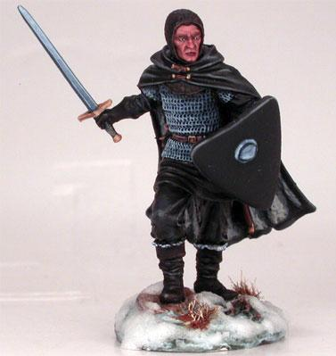 Night's Watch Warrior w/Sword & Shield