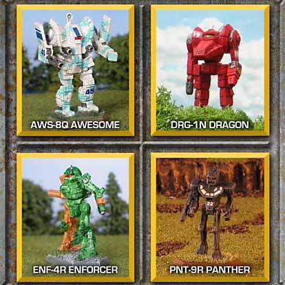 BattleTech Miniatures: Command Lance