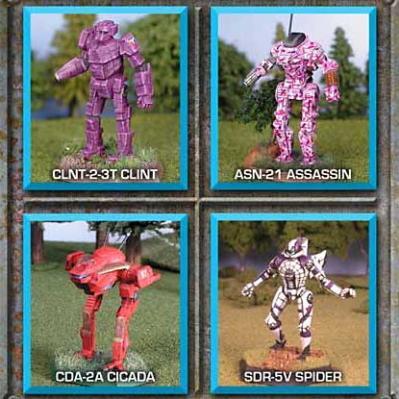 BattleTech Miniatures: Recon Lance