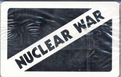 Nuclear War Accessory: Blank Deck
