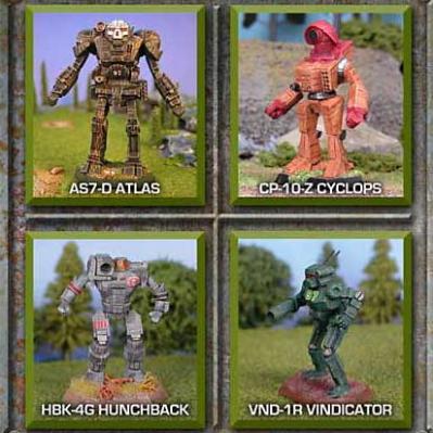 BattleTech Miniatures: Assault Lance