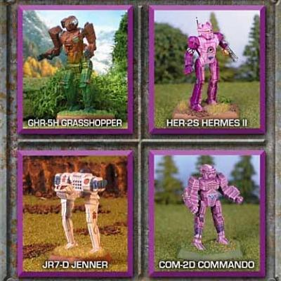 BattleTech Miniatures: Striker Lance