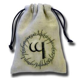 Dice Accessories: Elven Linen Dice Bag