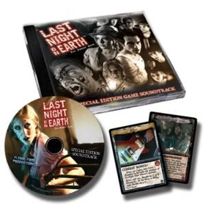 Last Night On Earth: Special Edition Game Soundtrack CD