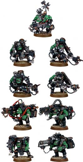 Warhammer 40K: Ork Lootas and Burnas Boxed Set