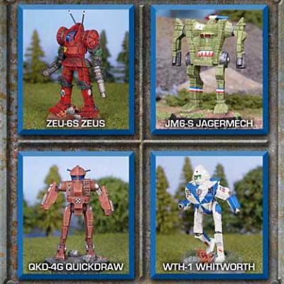 BattleTech Miniatures: Support Lance