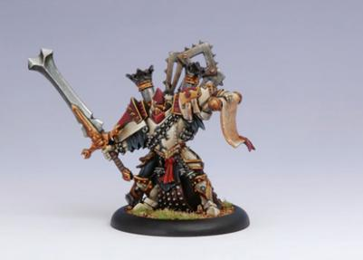 (The Protectorate Of Menoth) High Executioner Servath Reznik
