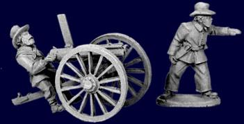 Artizan Designs Wild West: Plains Infantry Gatling Gun (2)