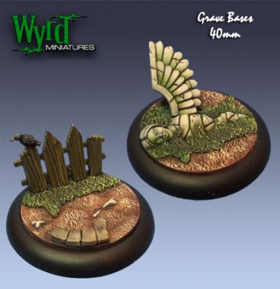 (Base Inserts) Graveyard 40mm (2)