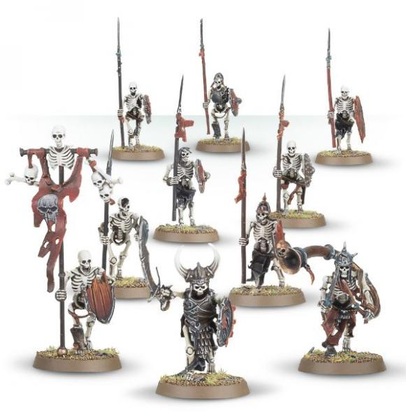 Age of Sigmar: Skeleton Warriors