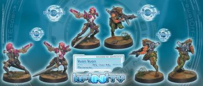 Infinity (#131) Mercenaries Yuan Yuan (Rifle, Chain Rifle) (2)