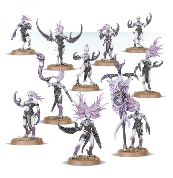 Age of Sigmar: Daemonettes of Slaanesh