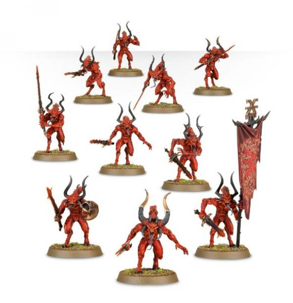 Age of Sigmar: Daemons Of Khorne Bloodletters