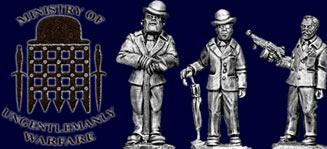28mm Thrilling Tales (Pulp): Ministry of Ungentlemanly Warfare (3)