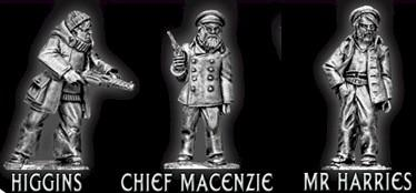 28mm Thrilling Tales (Pulp): Merchant Sailors