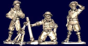 (British) 8th Army Mortar Teams (3)