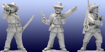 Artizan Designs Wild West: Plains Infantry Command (4)
