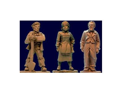 28mm Thrilling Tales (Pulp): Household Staff (3)