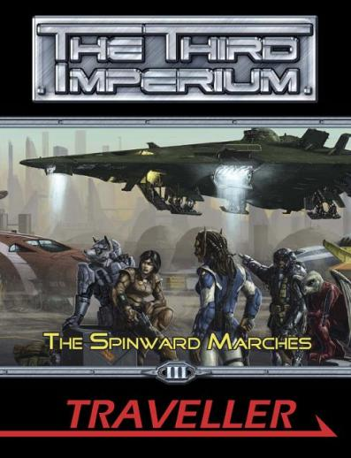 Traveller RPG: Spinward Marches