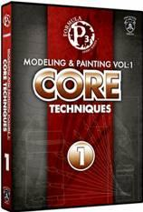 Formula P3 Hobby Tools: Modeling & Painting Vol. 1 - Core Techniques (DVD)