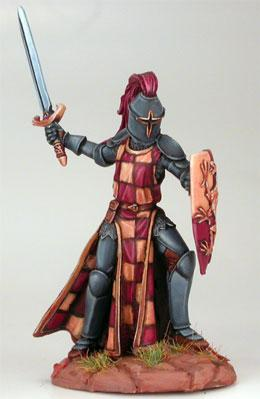 Male Knight w/Sword & Shield