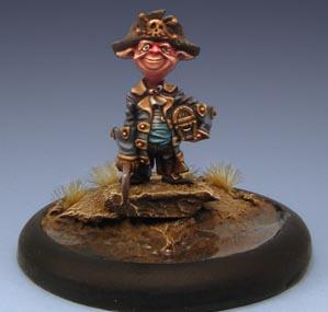 Wyrd Miniatures 32mm: Dwead Piwate Rupprecht