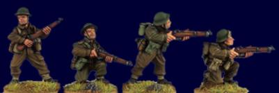 Artizan Designs WWII 28mm: British and Commonwealth Riflemen II (4)