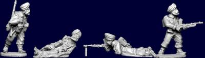 Artizan Designs WWII 28mm: Commonwealth Sikh Bren Team (4)