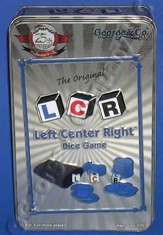 L-C-R: Left Center Right Dice Game 25th Anniversary Collector's Tin