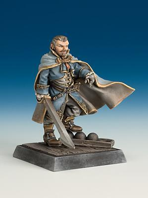 Freebooter Miniatures: Captain o/t Imperial Armada (1)
