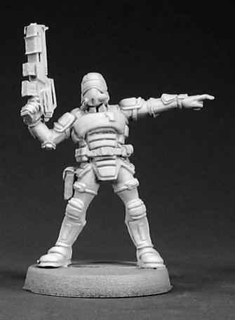 Chronoscope - Nova Corp: Nova Corporate Security Sergeant
