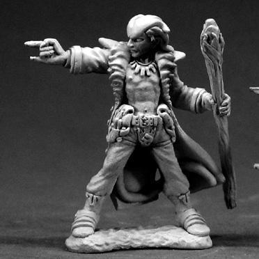 Dark Heaven Legends: Damien, Hellborn Wizard (Tiefling)