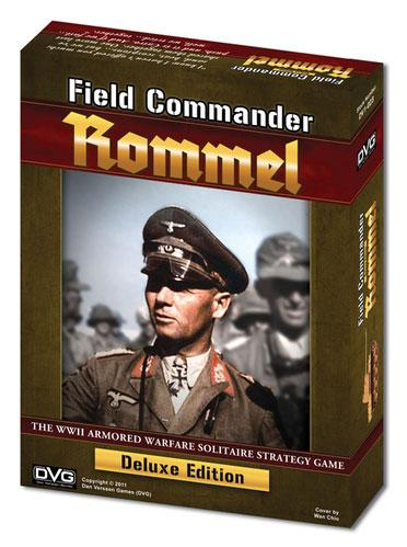 Field Commander: Rommel (WW2 Armored Warfare Solitaire Strategy Game)(Deluxe Edition)