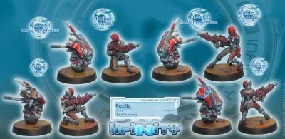 Infinity (#138) PanOceania:  Auxilia (4)