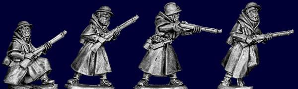 Artizan Designs WWII 28mm: French Goumier Riflemen I (4)