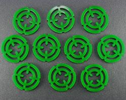 Targeting Reticle Tokens: Green (10)