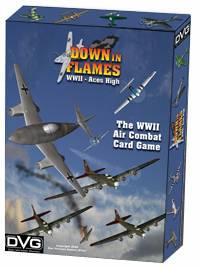 Down In Flames: Aces High (WW2 Air Combat Card Game)