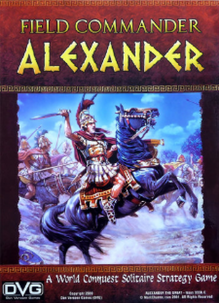Field Commander: Alexander (World Conquest Solitaire Strategy Game)