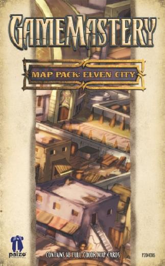 GameMastery Campaign Map Packs: Elven City