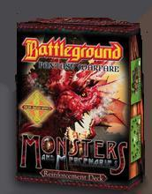 Battleground: (Fantasy Warfare) Monsters & Mercenaries Reinforcements