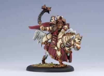 Warmachine (The Protectorate Of Menoth) High Exemplar Gravus
