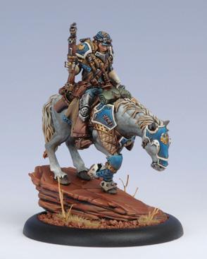 Warmachine (Cygnar) Captain Jeremiah Kraye (Blister)