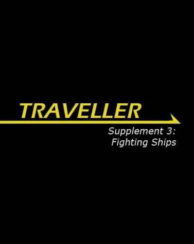 Traveller RPG - Supplement 3: Fighting Ships
